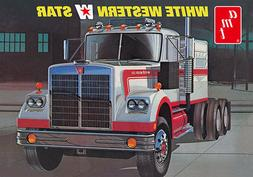 White Western Star Semi Tractor Cab 1/25 AMT AMTS0724 AMT/ER