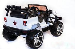 New Limited Edition Jeep Wrangler Style 12v Ride on Toy, Car