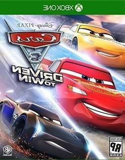 XBOX ONE XB1 VIDEO GAME CARS 3: DRIVEN TO WIN BRAND NEW AND