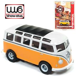 Auto World Xtraction R23 1965 Volkswagen Samba Bus Orange/Wh