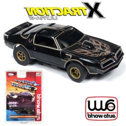Auto World Xtraction R25 1977 Firebird Smokey and the Bandit