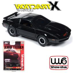 Auto World Xtraction R25 Knight Rider  1:64 HO Slot Car