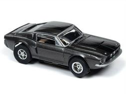 Auto World Xtraction R26 1967 Shelby GT 350 Grey HO Slot Car